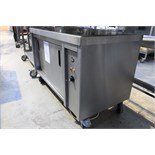 EMH two door mobile hot cabinet 1200mm x 600mm