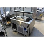 Moffat VCRW3 Versicarte refrigerated display attractive mobile servery counter refrigerated