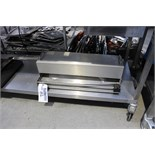 Stainless steel counter top foil dispenser takes 500mm roll