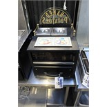 Victorian Baking Oven Bertie 1515W hot drawer with 2 pot well top electric 420mm x 450mm x 370mm