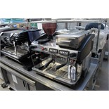 Expobar Elegance two group coffee machine with integral grinder automatic espresso coffee machine