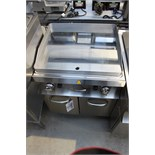 MBM GFT777 LC (1011205) mirror plate gas griddle 660mm x 560mm