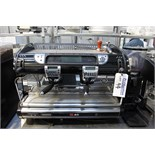 La Spaziale Seletron S40 automatic two group coffee machine with dosing 10 litre boiler 845mm x