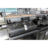 Simonelli Nuova Aurelia II three group coffee machine with Mythos bean grinder Stainless steel