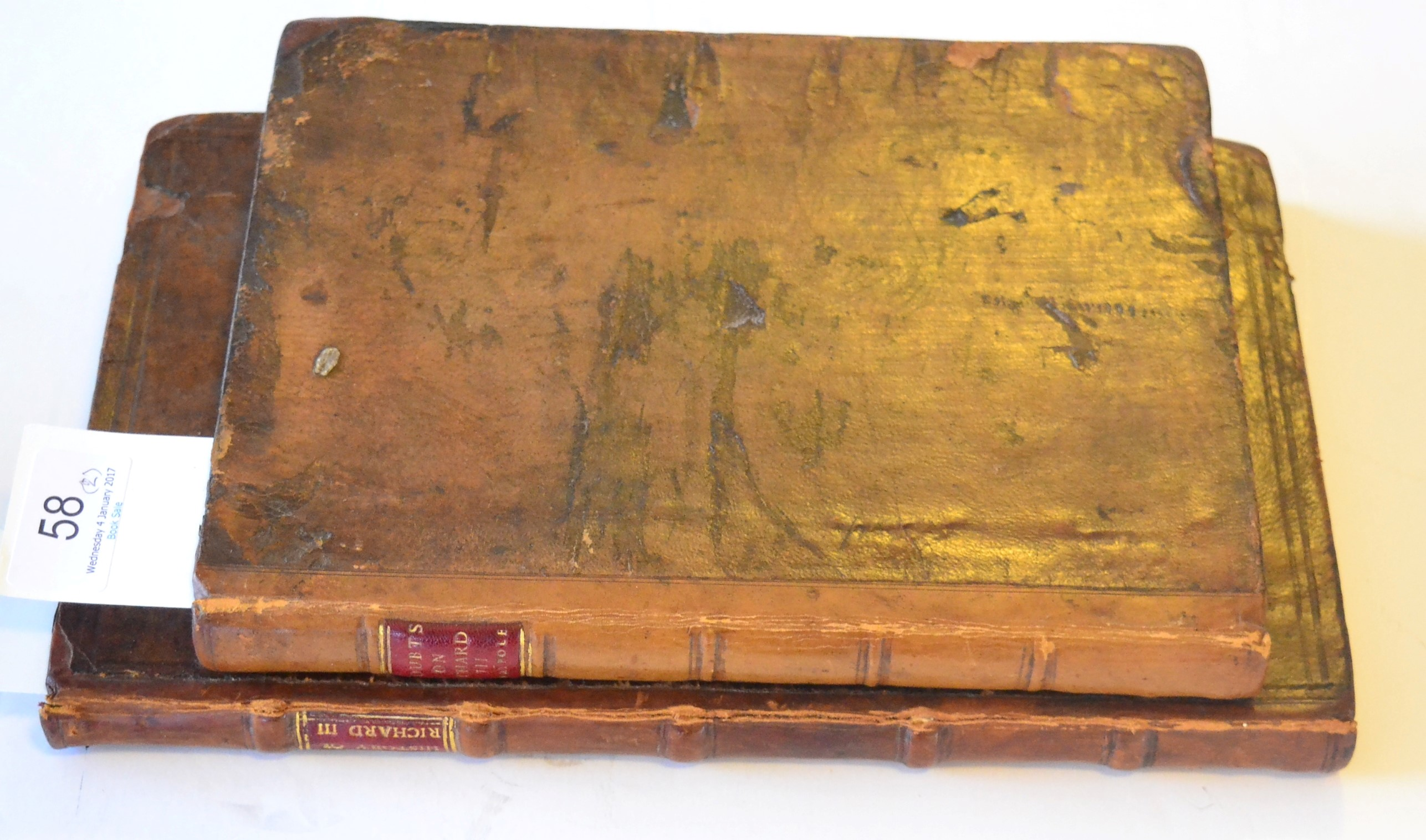 Lot 58 - RICHARD III Buck (George) The History of the Life and Reigne of Richard the Third, 1647, London,