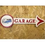 Volkswagen Garage Arrow Wall Plaque