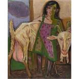 Otto DixZigeunerkind mit Ziege