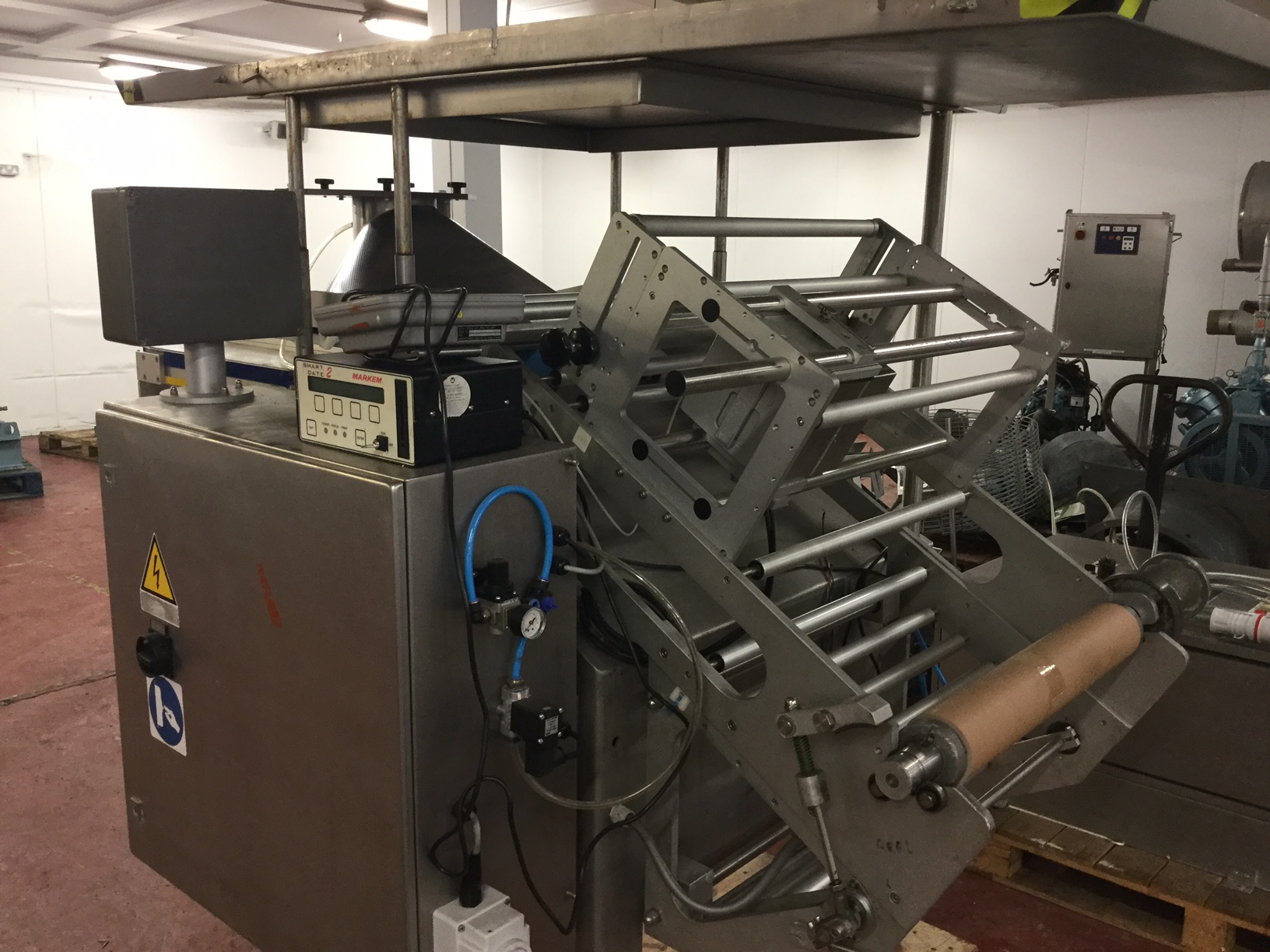 Lot 33 - Ilapak Vegatronic Vertical Form, Fill & Seal machine LIFT OUT £50