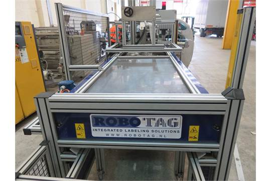 Lot 35 - Robo TAG Labelling System. Model ASP 1 DEPOSE. Mobile on wheels LIFT OUT £25