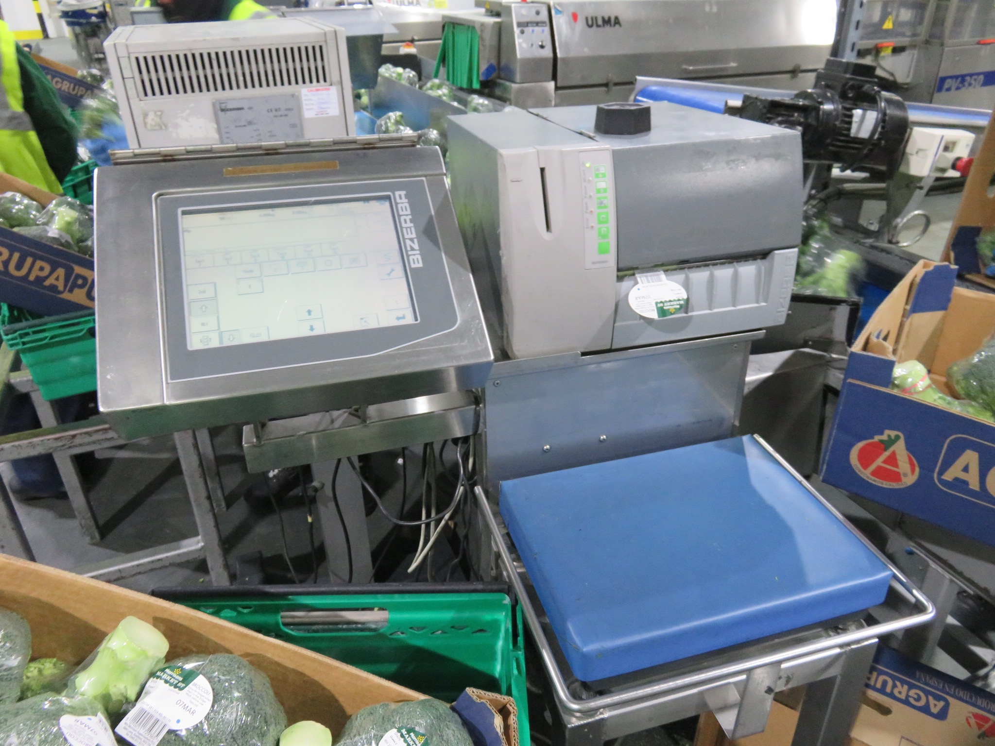 Lot 10 - Bizerba Weigh, Price, Labelling system LIFT OUT £25