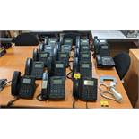 18 off Polycom telephone handsets model VVX300 plus 1 additional handset . This is one of a large
