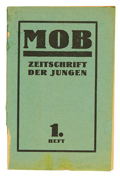 Lot 704 - Zeitschriften - - Mob. Zeitschrift der Jungen. Hefte 1, 3 und Doppelheft 4/5 (von 5 in 4