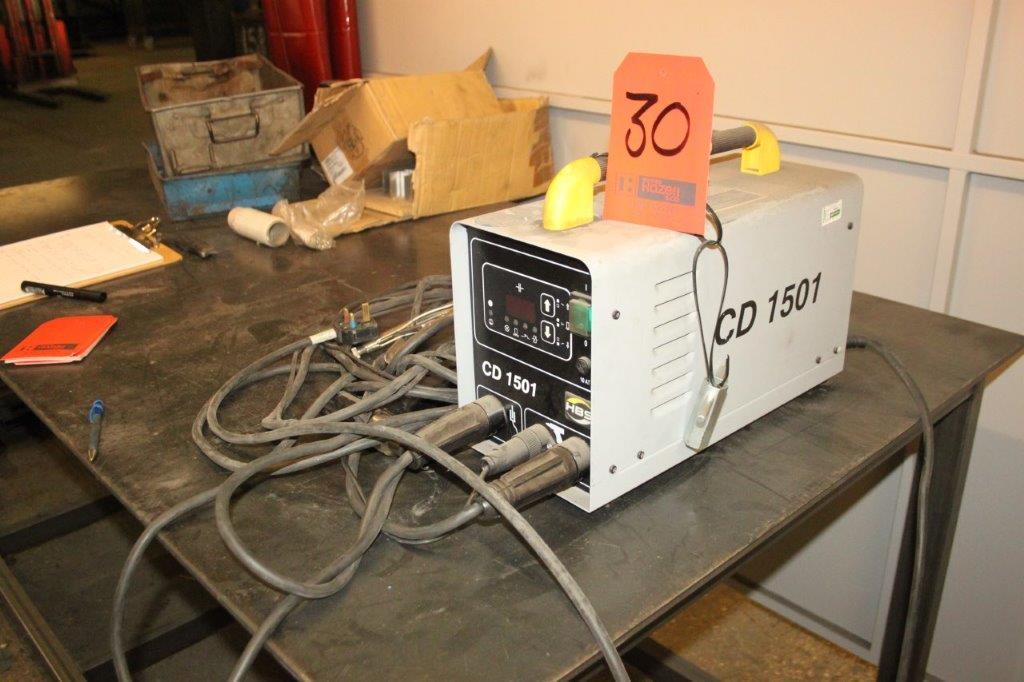 Lot 30 - HBS CD 1501 STUD WELDER 240V
