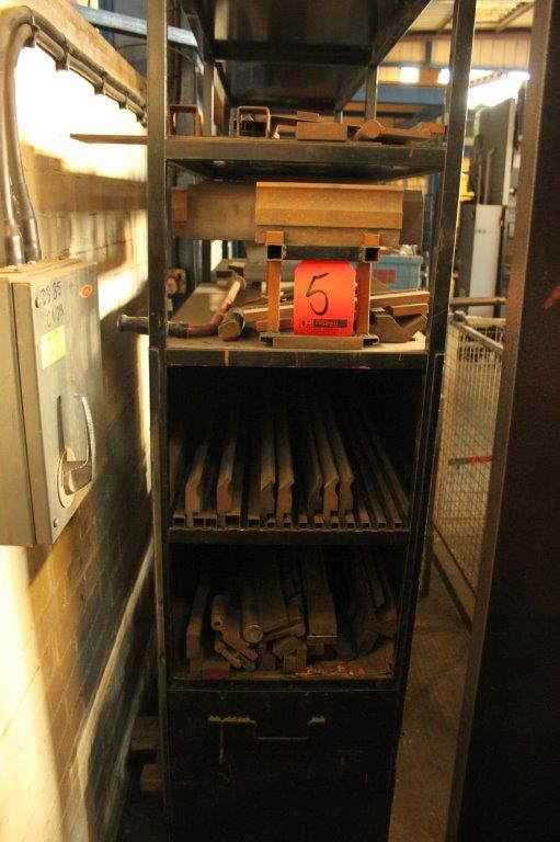 Lot 5 - RACK OF BRAKE PRESS TOOLING