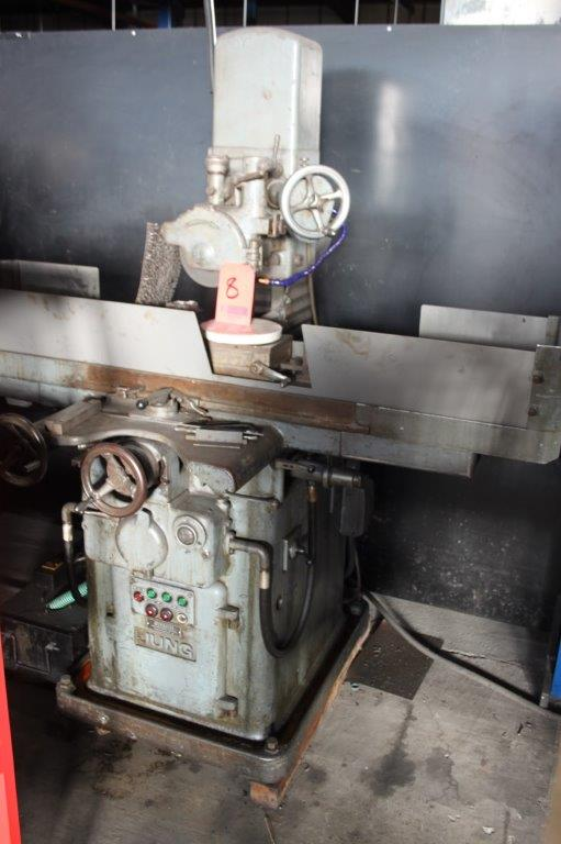 Lot 8 - JUNG SURFACE GRINDER C/W 100 X 300 MAGNETIC VICE