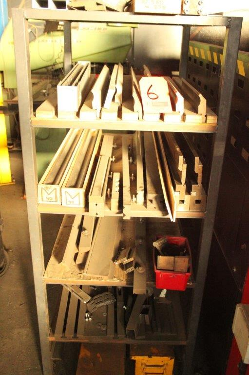 Lot 6 - RACK OF BRAKE PRESS TOOLING