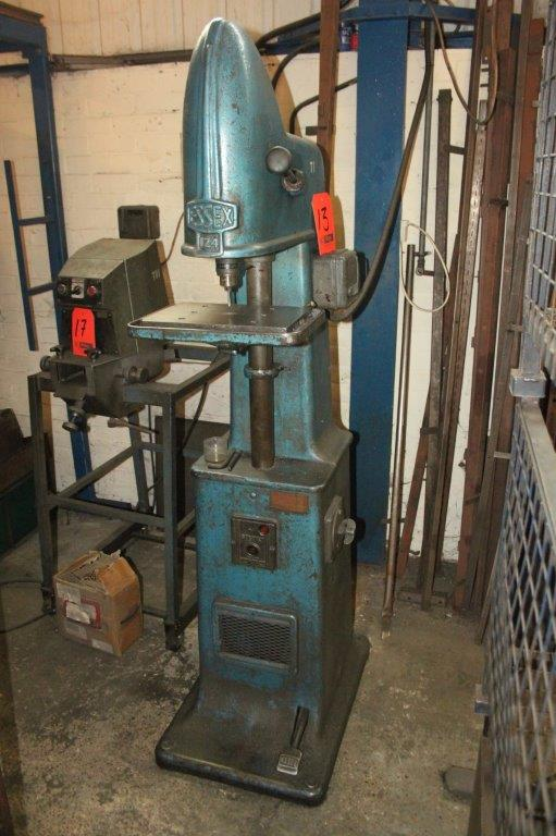 Lot 13 - ESSEX 124 TAPPING MACHINE C/W FOOT CONTROL