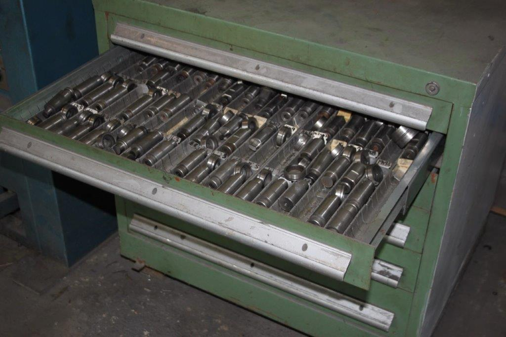Lot 7 - PIECE - ALL PERF-O-MATOR CNC PUNCH C/W OUTFEED TABLE/DIGIPAC 4 DRO