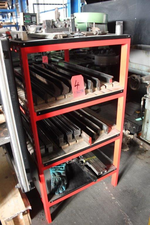 Lot 4 - RACK OF BRAKE PRESS TOOLING