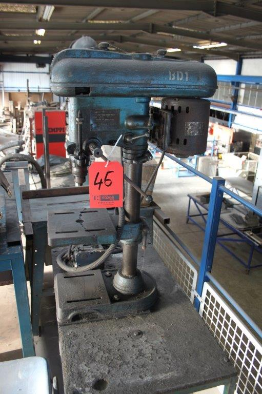 Lot 45 - FOBCO 4 SPEED BENCH DRILL