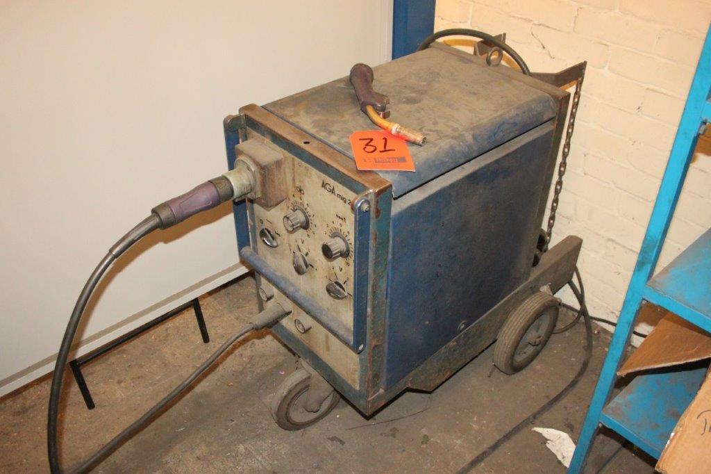 Lot 31 - AGA MIG 200 WELDER