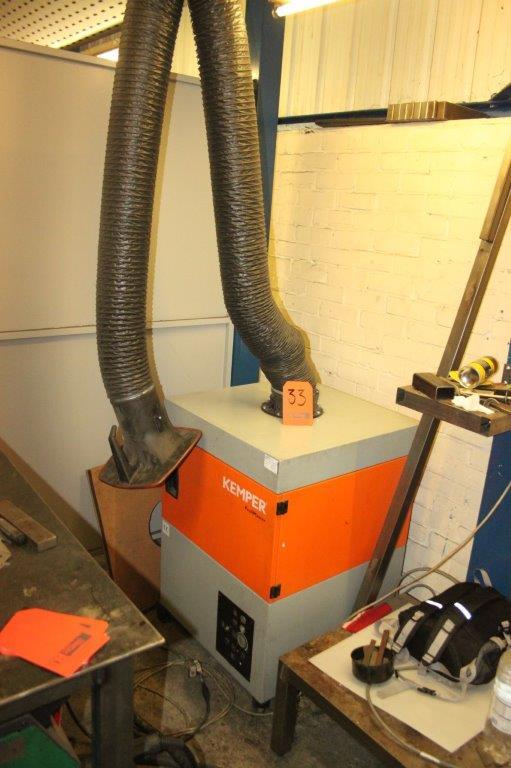 Lot 33 - KEMPER PROFI MASTER 240V FUME EXTRACTOR