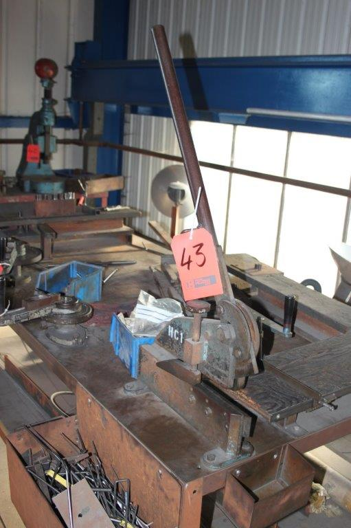 Lot 43 - SET BENCH SHEARS