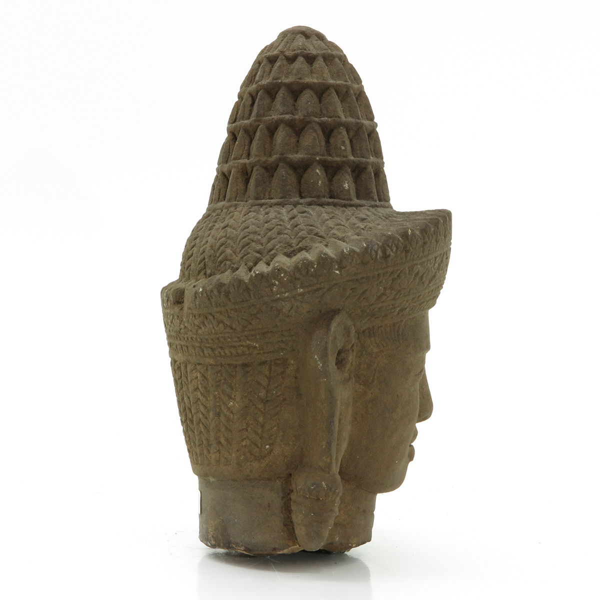 Lot 7071 - A Cambodian Carved Stone Sculpture