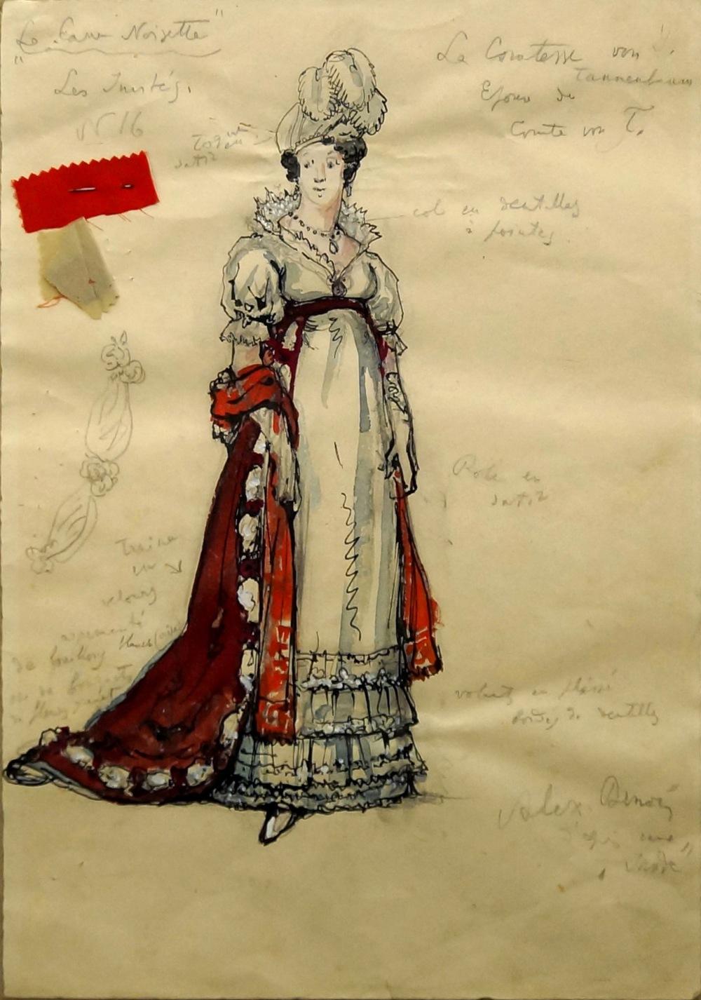 "Lot 594 - Alexandre Benois, Russian 1870-1960- ""Th"