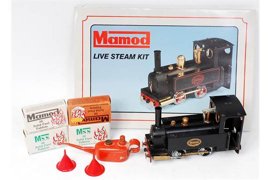Mamod SLK1 Live Steam Locomotive Kit, appears to have little use
