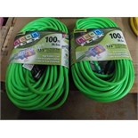 (N) extensions -100' NEON FLEX - extension cords