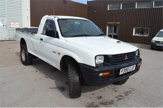 1997/P REG MITSUBISHI L200 4WD TURBO DIESEL *NO VAT* DATE OF