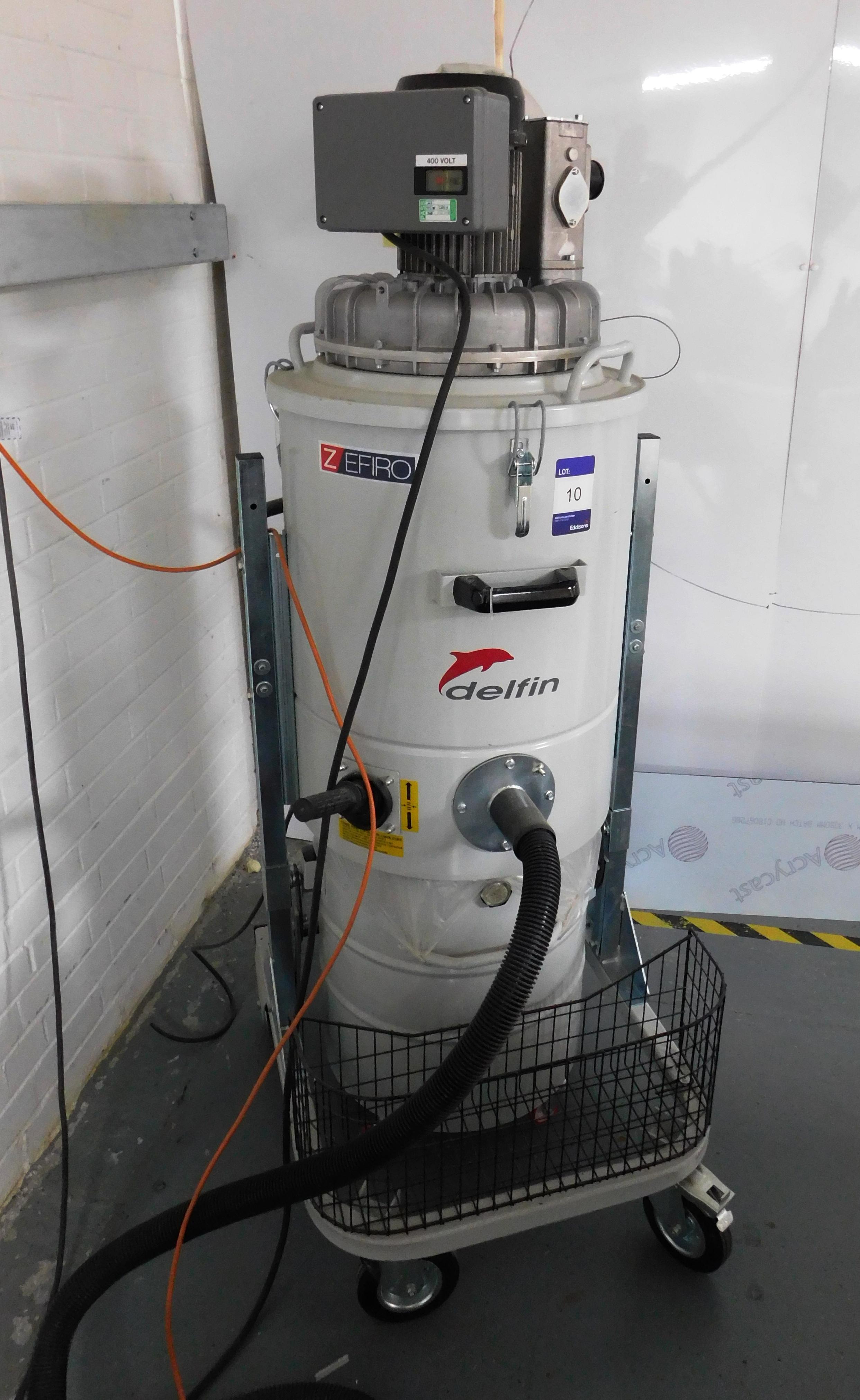 Delfin Zefiro Industrial Vacuum