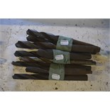 """Various drill bits, length of longest approx. 12""""."""