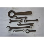 """A collection of BSW - BSF spanners, length of longest approx. 10""""."""