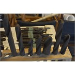 """Seven taper shank drill bits, length of longest approx. 17"""" (4)."""