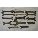 A collection of small BSW - BSF spanners.