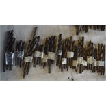 Various drill bits, length of longest approx.