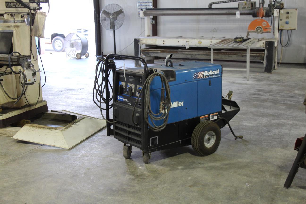 Miller Bobcat 250 LP Gas Welder/Generator 10000 Watt Generator ...
