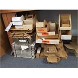 STACKS OF PARTS BOXES (Note: Your bid is multiplied by the quantity)