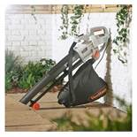 (LT34) 3000W Leaf Blower Powerful 3000W motor blows, vacuums and mulches leaves Automatic mul...