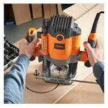 (LT5) 1600W Router Make easy work of all carving tasks, including routing, polishing, contouri...