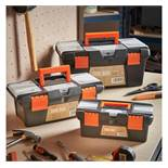 "(LT28) 3pc Tool Box Set 3 Piece Tool Box Set - sizes 10"", 13"" and 16.5"" Each box features rem..."
