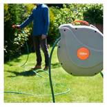 (LT19) 30m Garden Hose Reel Extra-long 30m hose stretches to suit small and large gardens. Smo...