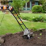 (LT8) Electronic 1050W Tiller Powerful 1050W motor and extra long 10m cable Capable of tillin...
