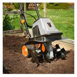 (LT7) 1400W Electronic Tiller The tiller benefits from a powerful 1400W motor with a 280rpm no...