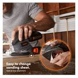 (LT17) E-Series Cordless Sander E-series Cordless Sander *Battery & charger not included The ...