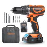 (LT21) 20V MAX Cordless Impact Combi Drill Choose from drill function and hammer function. P...
