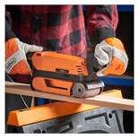 (LT37) 900W Belt Sander Can be used as a traditional belt sander to grind materials quickly & ...