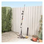 (LT31) 500W Pole Trimmer Dual-action 45cm laser-cut steel blade and 90° rotation adjustable h...